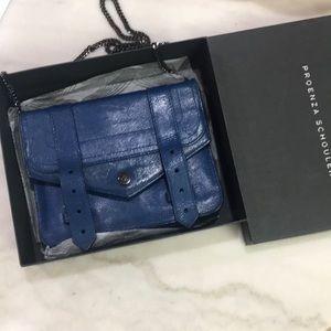 Proenza Schouler Blue WOC bag